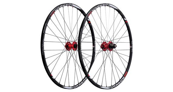 Novatec Dragon 29 U1 wiel MTB-Disc 8/9/10-speed wit/zwart